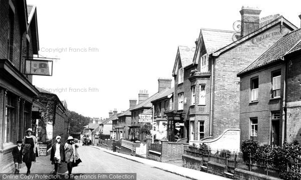 Leiston, High Street 1922