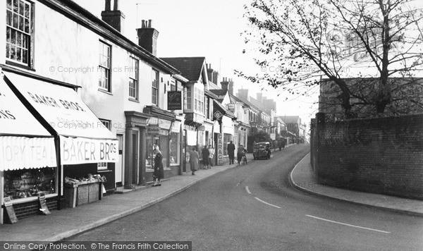 Photo of Leiston, High Street c.1955