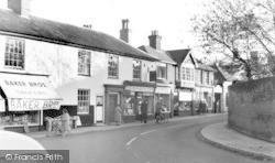 High Street c.1960, Leiston