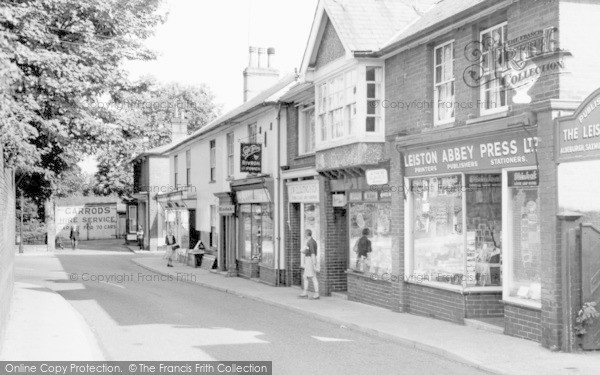 Leiston, High Street c1955