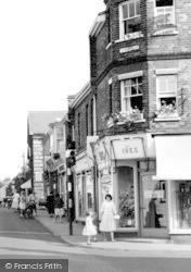 High Street Shops c.1960, Leiston