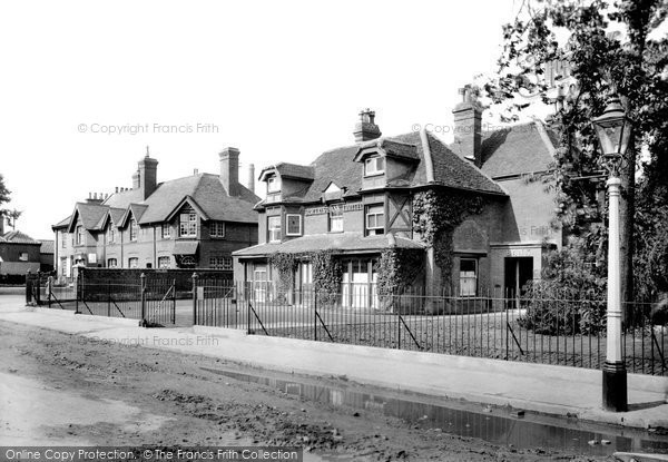Leiston, Main Street 1922