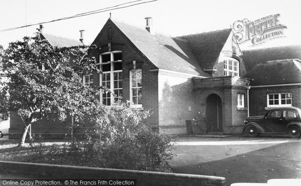 Photo of Leiston, Modern School c.1955