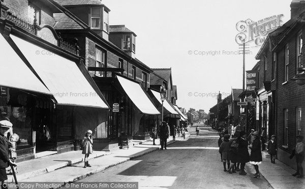 Leiston, Sizewell Road 1922