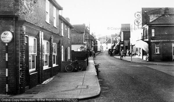 Photo of Leiston, Sizewell Road c.1960