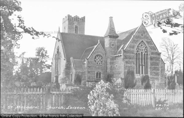 Photo of Leiston, St Margaret's Church c.1955