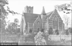 St Margaret's Church c.1955, Leiston
