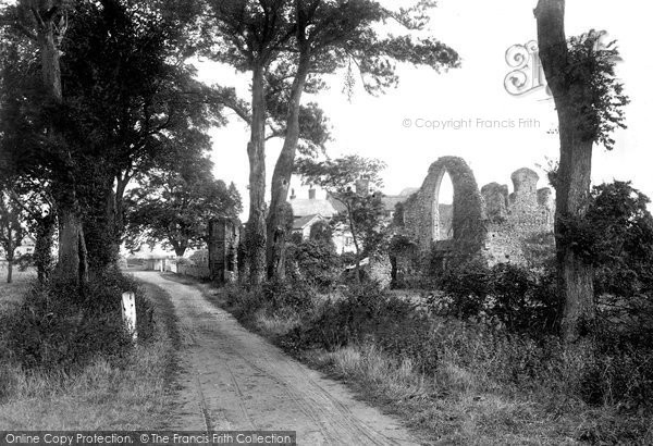 Photo of Leiston, St Mary's Abbey 1922