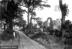 St Mary's Abbey 1922, Leiston