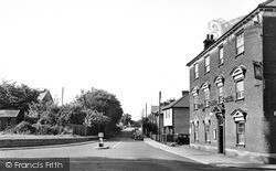 Station Road c.1955, Leiston