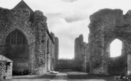 Leiston, the Abbey 1922