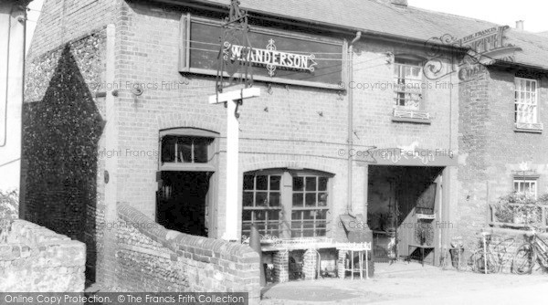 Leiston, the Forge c1960