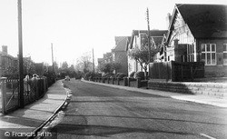 Waterloo Avenue c.1960, Leiston