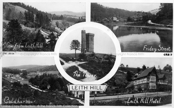 Photo of Leith Hill, Composite