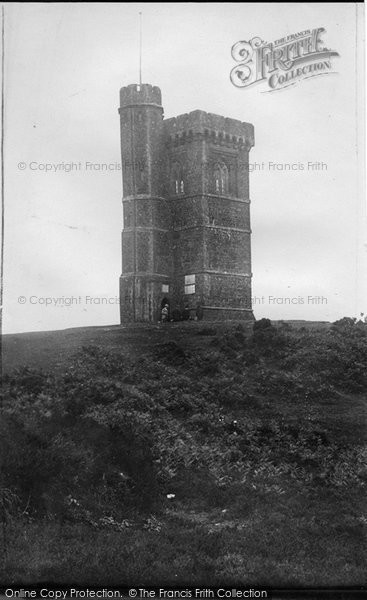 Photo of Leith Hill, Summit 1890