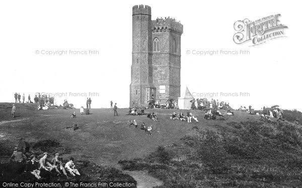 Photo of Leith Hill, The Tower 1890