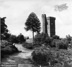 Leith Hill, The Tower c.1955