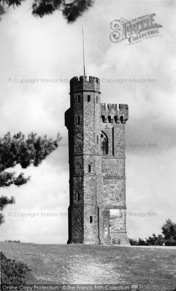 Photo of Leith Hill, The Tower c.1955