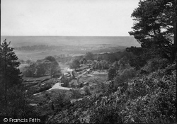 Leith Hill, View From The Hill 1919