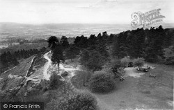Leith Hill, View From The Tower c.1955