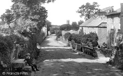 Church Lane 1892, Lelant