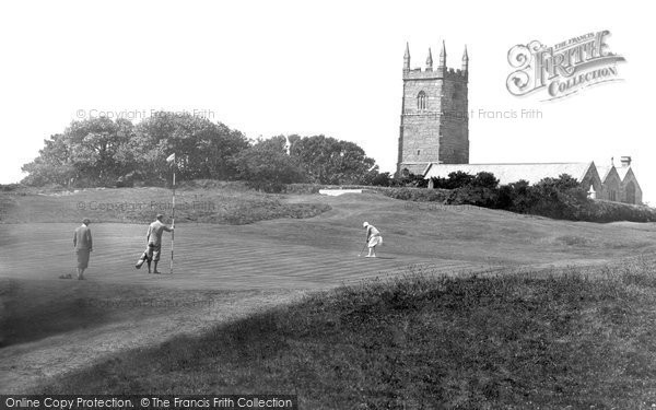 Photo of Lelant, Golf Links 1928