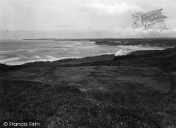 Golf Links Eleventh Hole 1928, Lelant