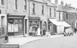 Lemington, Shops, Tyne View c.1950