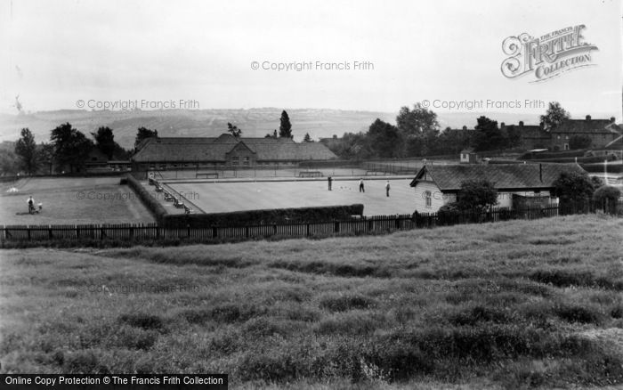 Photo of Lemington, The Bowling Greens c.1950