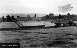Lemington, The Bowling Greens c.1950