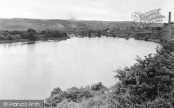 Lemington, The River Tyne c.1950