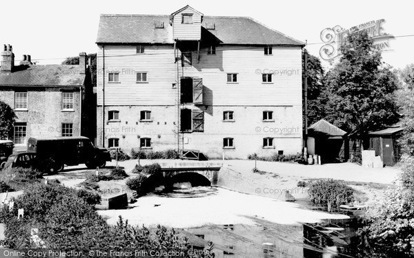 Lemsford,the Mill c1960,Hertfordshire