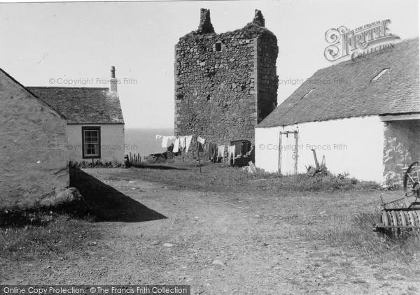 Photo of Lendalfoot, Carleton Castle 1951