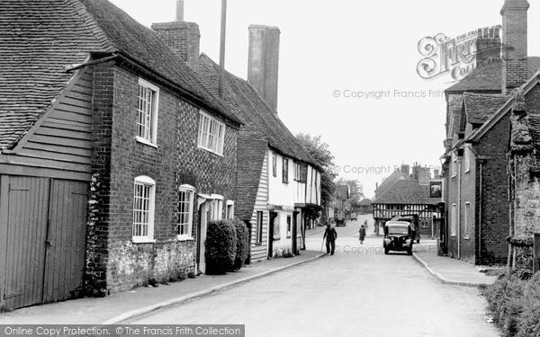 Photo of Lenham, Faversham Road c.1955