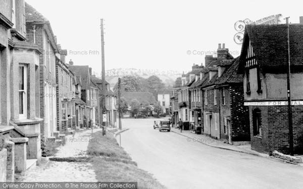 Photo of Lenham, High Street c.1955