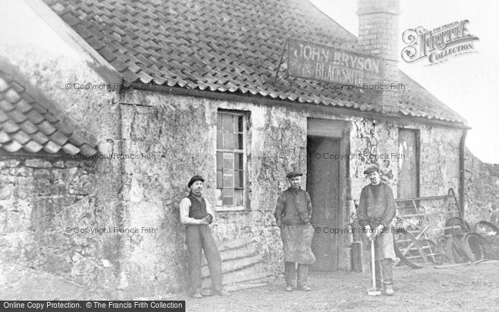Photo of Lennoxtown, John Bryson Blacksmith, Rowantreefaulds c.1900