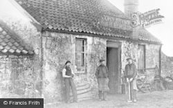John Bryson Blacksmith, Rowantreefaulds c.1900, Lennoxtown