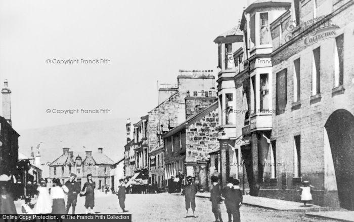 Photo of Lennoxtown, Main Street c.1900