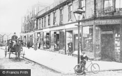 Queen's Buildings c.1900, Lenzie