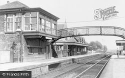 Lenzie, Station c.1900