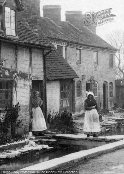 Photo of Leominster, A Cottage In Vicarage Street 1906