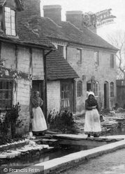 A Cottage In Vicarage Street 1906, Leominster