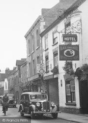 Leominster, Black Swan Hotel c.1950