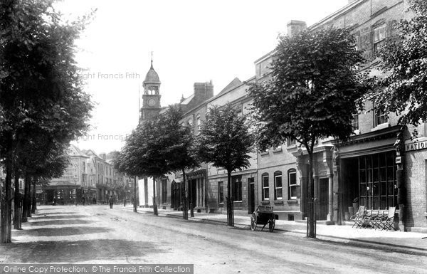 Photo of Leominster, Broad Street 1904