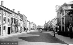 Leominster, Broad Street 1936