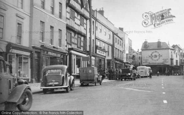 Photo of Leominster, Broad Street c.1950