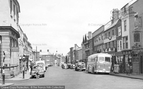 Photo of Leominster, Broad Street c.1955