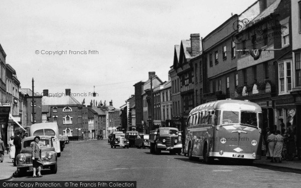 Photo of Leominster, Broad Street c.1955