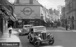 Car In The High Street 1936, Leominster