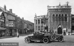 Cars In The Corn Square 1925, Leominster